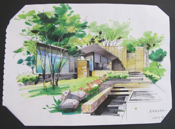 美术学院举办庐山手绘特训营师生作品展